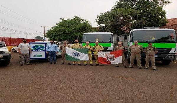 Governo envia equipamentos de combate a incêndio para Costa Rica e Corumbá