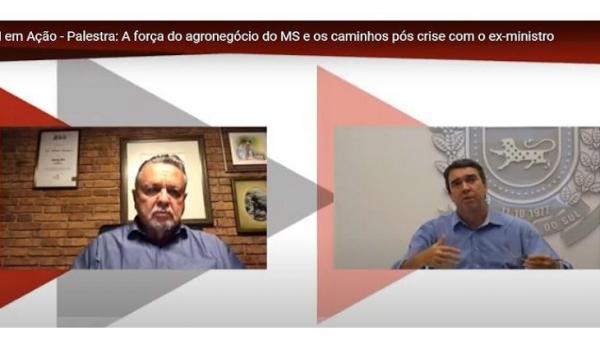 Ex-ministro da Agricultura enaltece o crescimento do agronegócio sul-mato-grossense