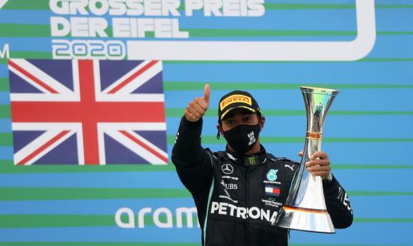 Hamilton chega a 91 vitórias e iguala recorde de Schumacher