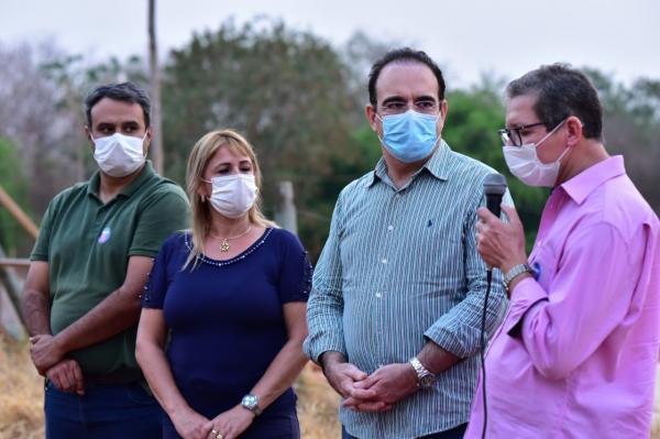 Clarice consegue junto ao deputado Felipe Orro a primeira estação de tratamento de esgotos de Sonora
