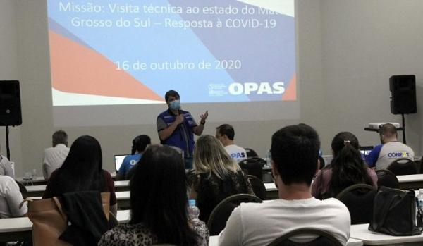 Na avaliação da OPAS, ações da SES foram positivas para o enfrentamento à Covid-19