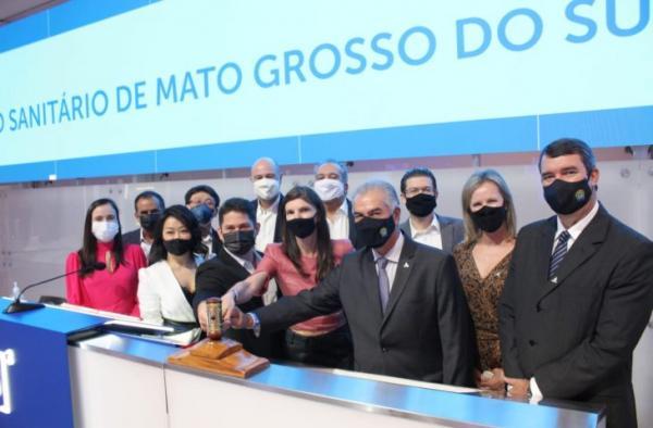 Resultado do leilão da Sanesul encurta tempo de universalização e garante saúde para população de MS, diz governador