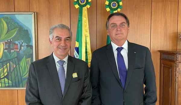 Reinaldo pede recursos para melhorar estrutura de combate a incêndios no Pantanal e relicitação da Malha Oeste