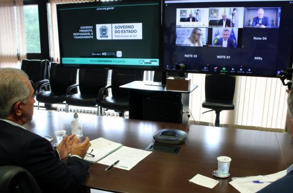Reinaldo Azambuja destaca sucesso de parcerias com a iniciativa privada