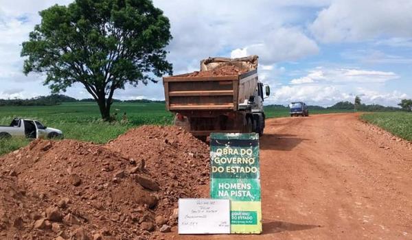 Municípios do sul e sudoeste são beneficiados com serviços de recuperação de estradas