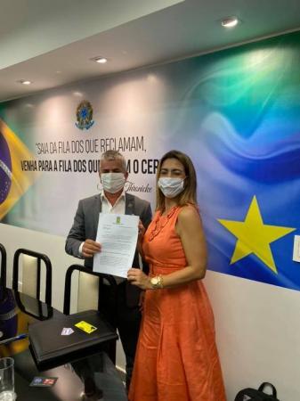 Senadora Soraya garante R$ 1,4 milhão ao município de Sonora