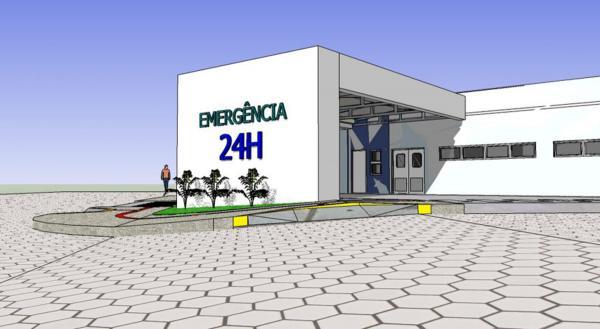 Com novo cronograma, complexo hospitalar de Corumbá está com 85% de sua estrutura pronta