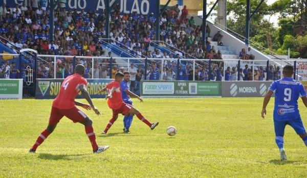 Campeão da Série B, Dourados bate Aquidauanense na estreia