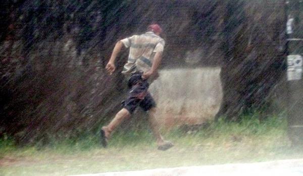 Quinta-feira com chuva em todo o Mato Grosso do Sul
