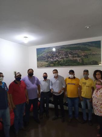 Lucas de Lima cumpriu agenda no município de Jaraguari