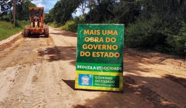 Agesul atua na manutenção permanente de estradas e pontes no Pantanal