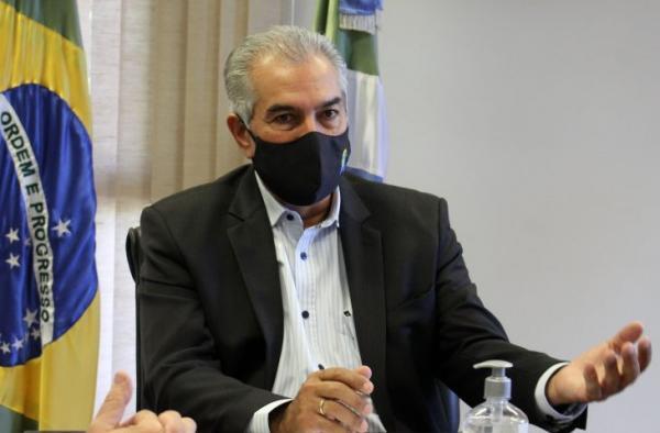 Reinaldo Azambuja vai cobrar kit intubação do Ministério da Saúde