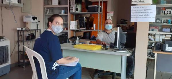 Agentes do Sebrae MS atendem pequenos negócios em 20 municípios do Estado