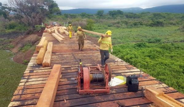 Governo segue com investimentos em pontes em diferentes regiões