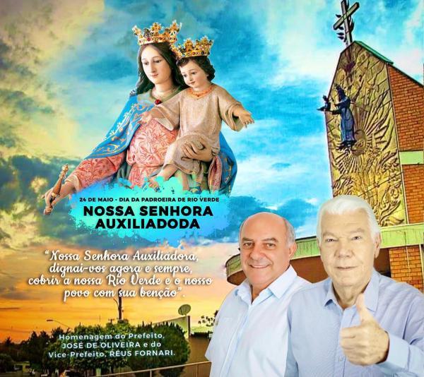 Rio Verde celebra Nossa Senhora Auxiliadora