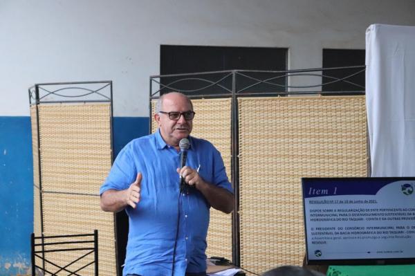 Réus Fornari representou Rio Verde em reunião com secretário Eduardo Riedel