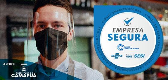 Sebrae e Sesi promovem ação Empresa Segura em Camapuã