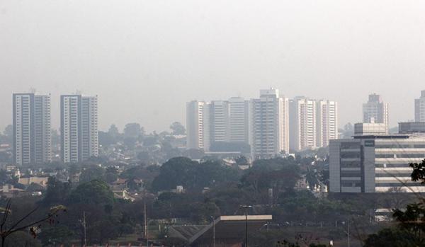 Umidade relativa do ar fica em 7% em Campo Grande