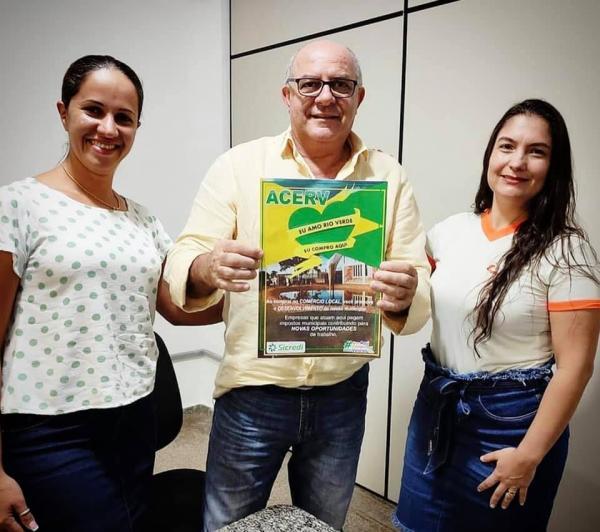 """ACERV lança campanha """"Eu amo Rio Verde! Eu Compro aqui"""""""