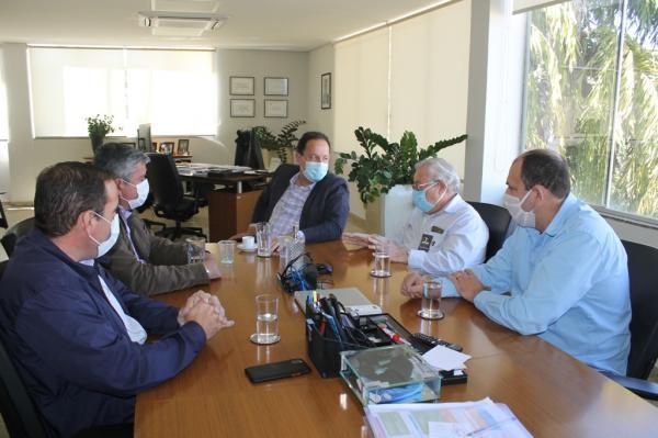 Diretoria da Sanesul recebeu organizadores da Copa Assomasul