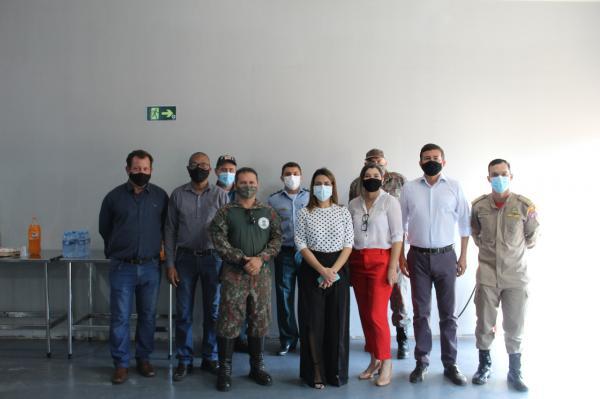 Soraya visita canteiro de obras de fábrica de celulose em Ribas do Rio Pardo?