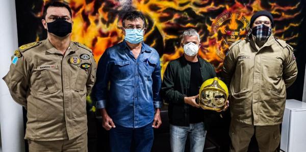 Enelto solicita ao Corpo de Bombeiros treinamento para combate a incêndios