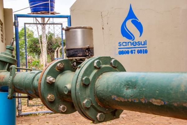Sanesul executa nesta terça-feira obras para melhoria na rede de abastecimento