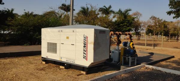 Elevatórias de esgoto de Três Lagoas recebem novos geradores de energia