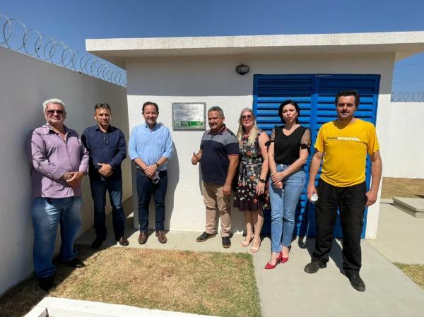 Sanesul entrega R$ 4,2 milhões em obras de saneamento em Antônio João