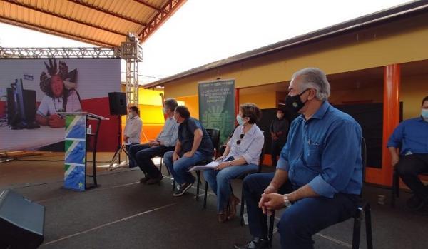 Reinaldo lançou programa de inclusão digital em áreas rurais de MS
