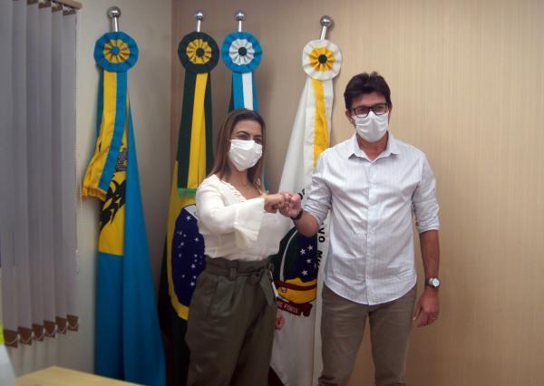 Soraya Thronicke trata com IBGE sobre censo em Costa Rica