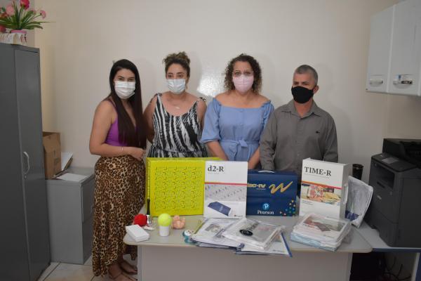 Sonora adquiriu testes psicológicos para atender crianças e adolescentes no Posto Central