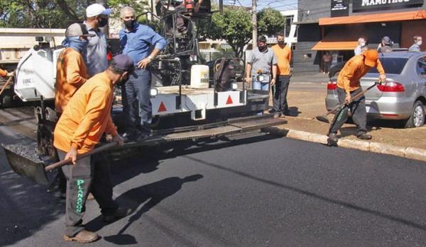 Reinaldo Azambuja entrega R$ 16,5 milhões em obras em Dourados