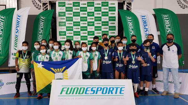 Corumbá renova título no futsal masculino dos Jogos Escolares
