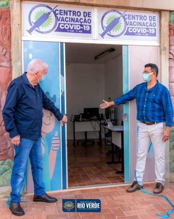 Rio Verde agora tem Centro Municipal de Vacinação contra a Covid-19
