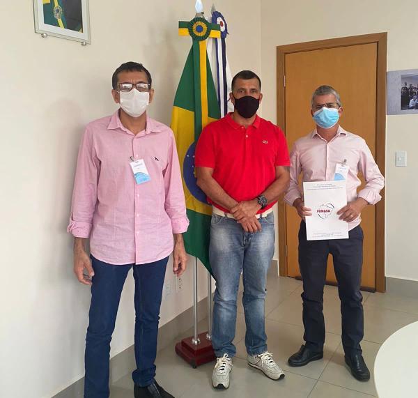 Enelto vai à Brasília buscar recursos para a obra de tratamento de esgoto de Sonora