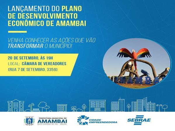 Plano de Desenvolvimento Econômico de Paraíso das Águas é lançado por Sebrae e Prefeitura