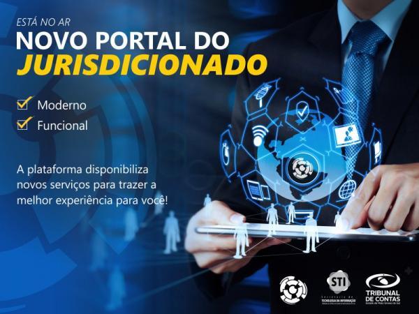 TCE-MS lança Novo Portal do Jurisdicionado