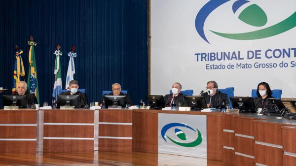 Pleno do TCE-MS teve 31 processos na pauta