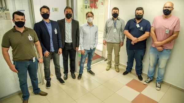 TCE-MS recebeu visita da equipe de TI da Prefeitura de Dourados