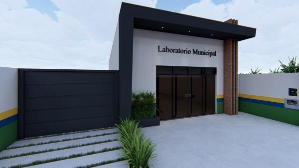 Prefeito Enelto Ramos anuncia construção do Laboratório Municipal