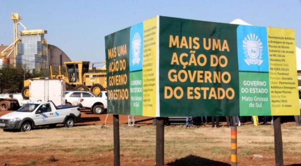 Governo do Estado está investindo R$ 34 milhões de obras no município
