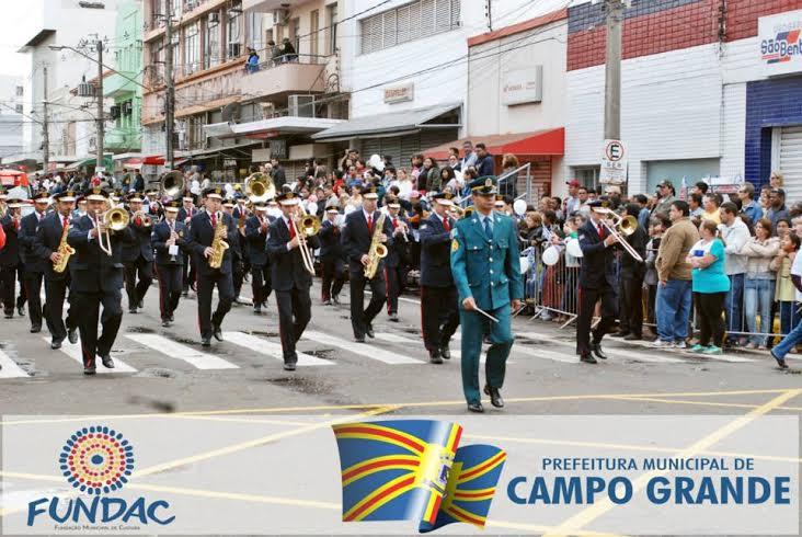Prefeitura abre inscrições para o Desfile Cívico de 26 de agosto