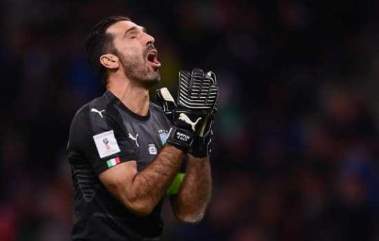 Itália está fora da Copa do Mundo