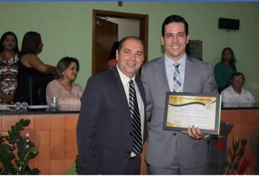Juiz da comarca recebeu Título de Cidadão