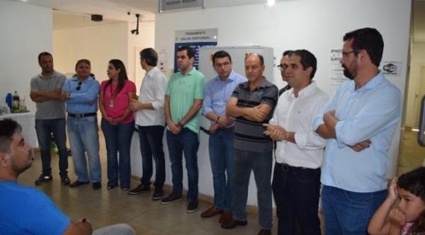 Coimbra visitou Hospital Regional para conhecer estrutura e demandas