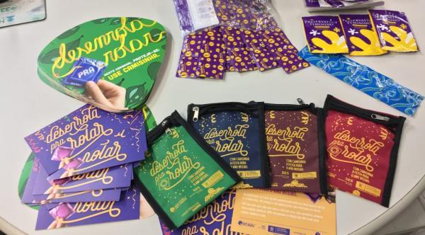 SES inicia distribuição de kits pra a Campanha de Carnaval