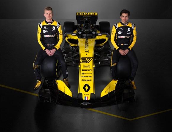 Renault apresenta R.S.18 com mais preto