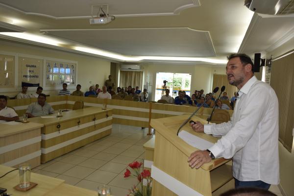 Valdeli afirma que a meta é ter no município a melhor saúde pública do país