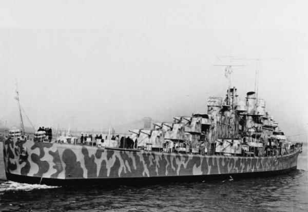 Navio afundado é encontrado 76 anos depois